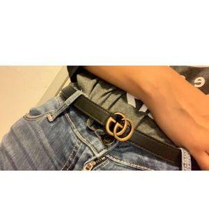 Small Gucci belt
